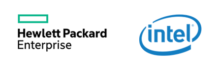 Image result for hpe intel logo