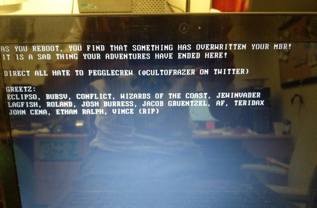 MBR malware