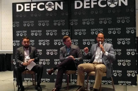 DEF CON encryption panel