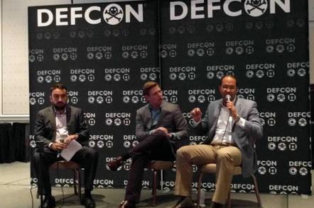 DEF CON encryption panel
