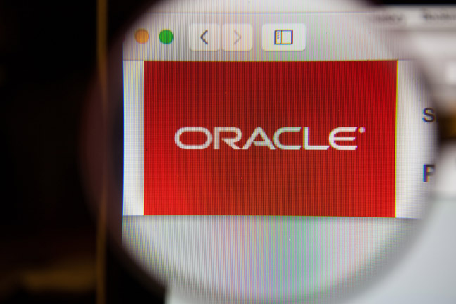 Oracle logo image by GongTo via Shutterstock