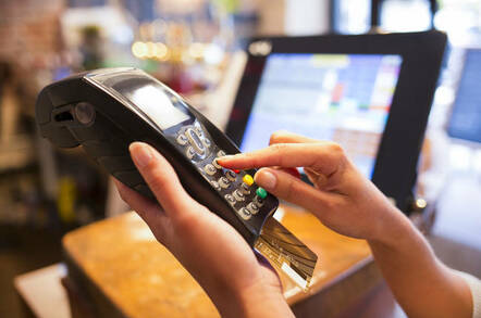Lloyds bank payments glitch frustrates merchants the register person using a card reader colourmoves