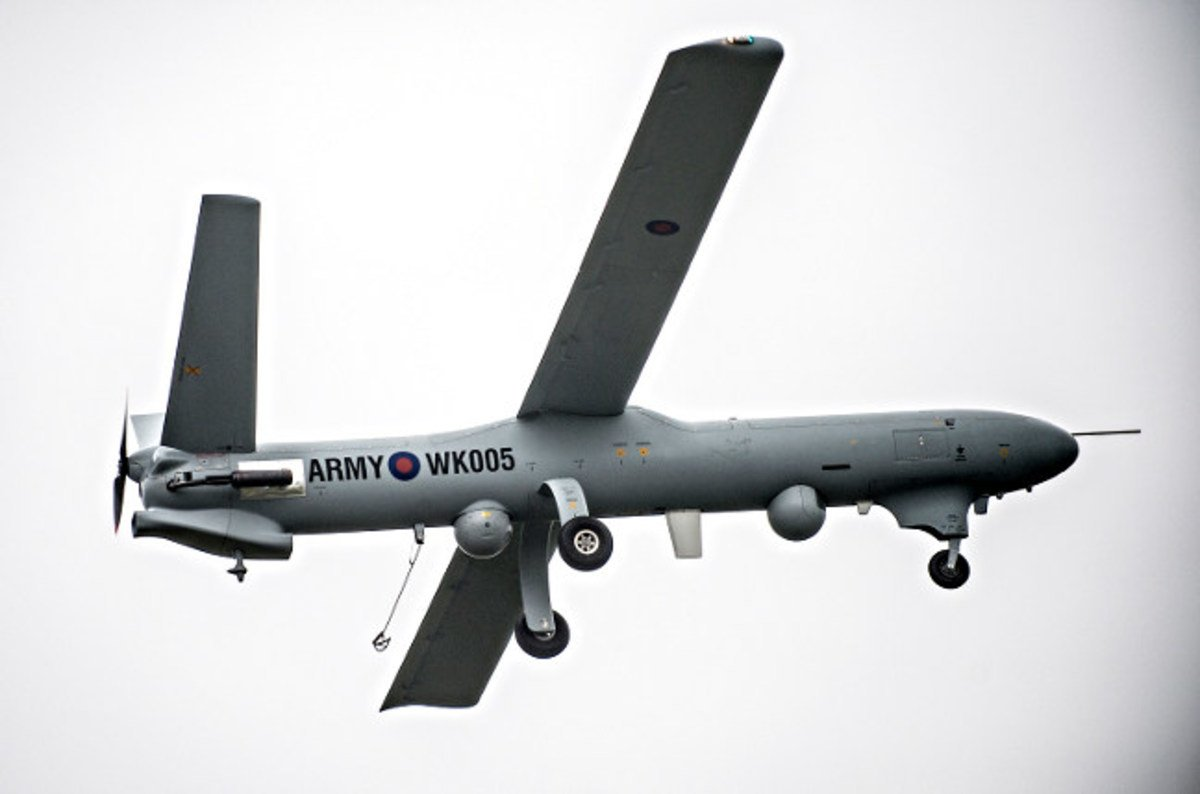 163 1m Military Drone Crashed In Wales After Crew Disabled