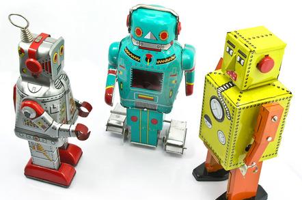 Robots, image via Shutterstock