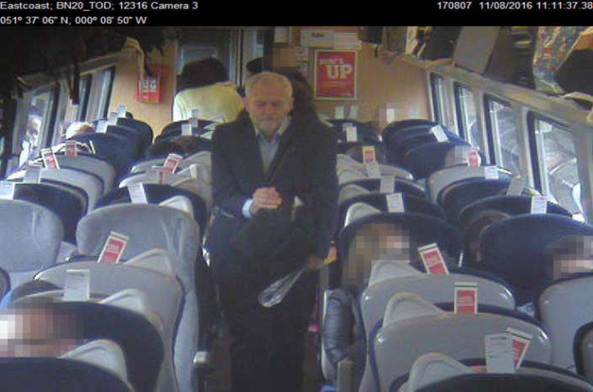 Virgin Trains dodges smack from ICO: CCTV pics of Corbyn ...