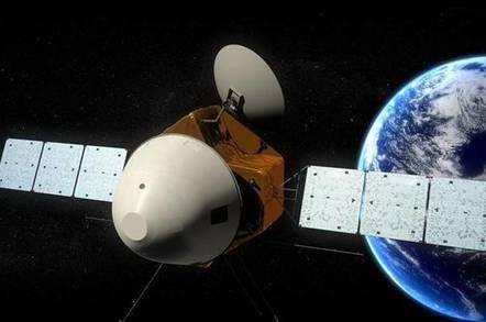 Chinese Martian probe