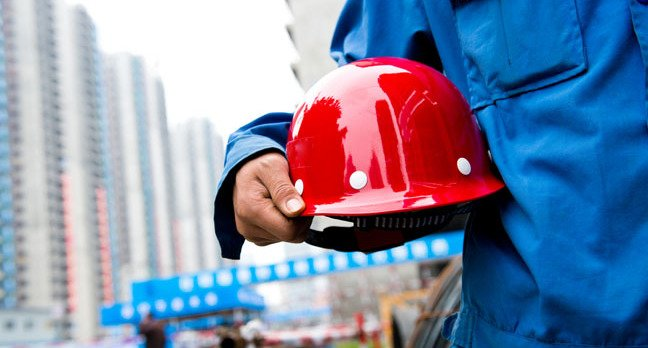 Red Hard Hat photo via Shutterstock