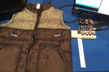 Arduino-powered VIVA vest