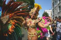 Notting Hill Carnival dancer. Pic: Shutterstock