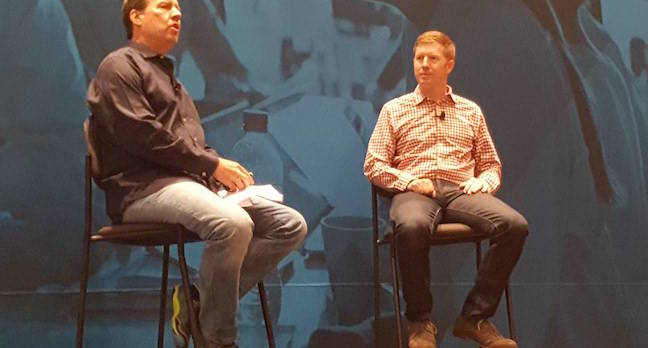 NetApp founder Dave Hitz and SolidFire founder Dave Wright