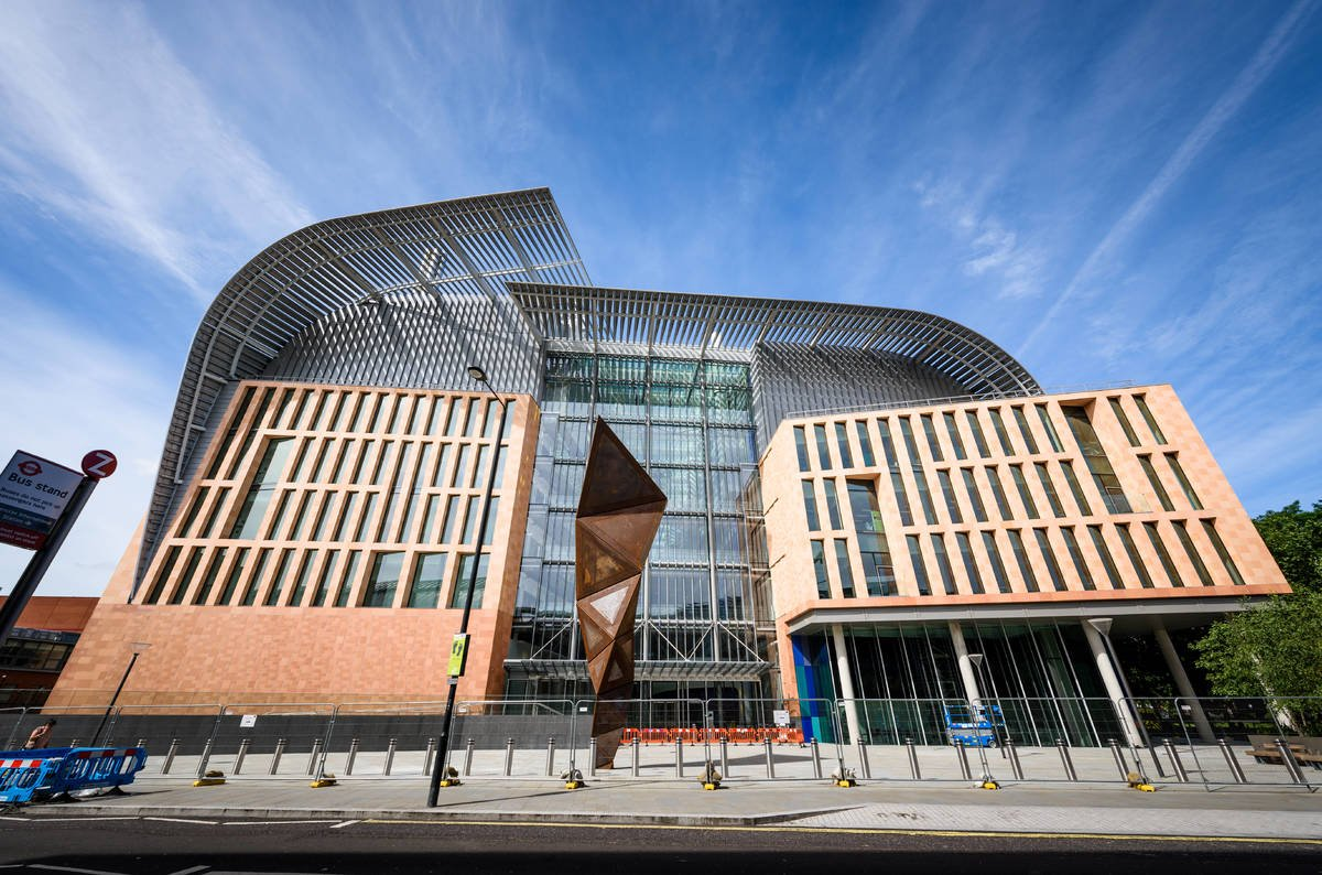 London 39 s francis crick institute will house 1 250 cancer for The best architecture firms in london