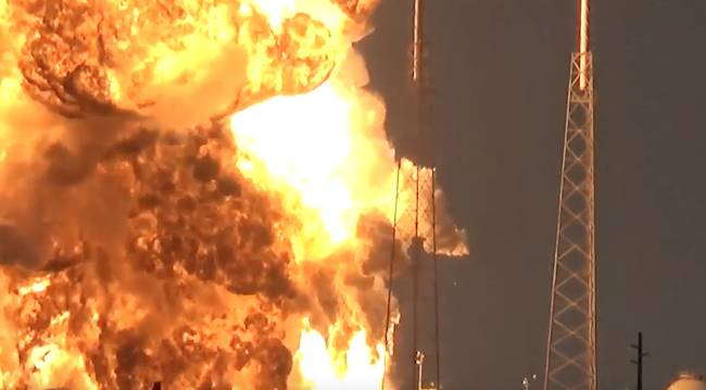 SpaceX Investigating Cause of Falcon 9 Explosion that Destroyed Amos-6 Satellite