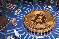 Bitcoin, photo via Shutterstock