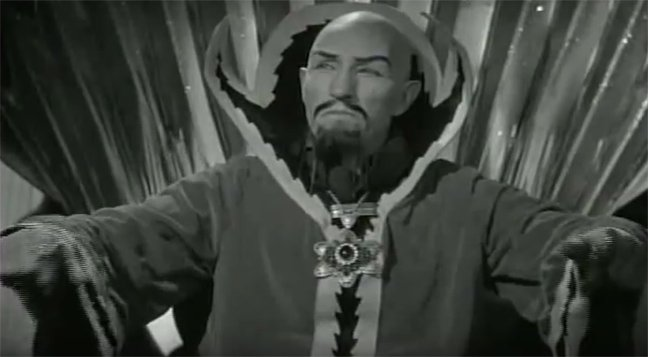 Flash Gordon Emperor Ming the Merciless