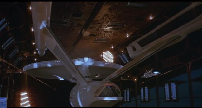 Star Trek Motion Picture Enterprise