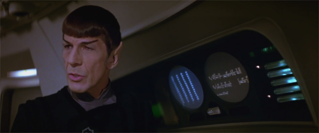 Star Trek Motion Picture Spock