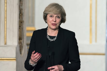 Theresa May photo by Frederic Legrand COMEO via Shutterstock