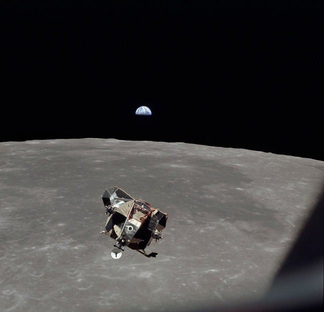Apollo 11 Lunar Module July 1969 photo via Shutterstock