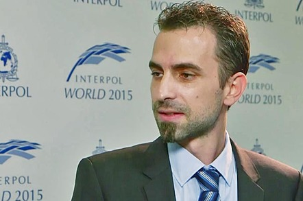 Florian Lukavsky, director, SEC Consult Singapore. Image: Interpol World.