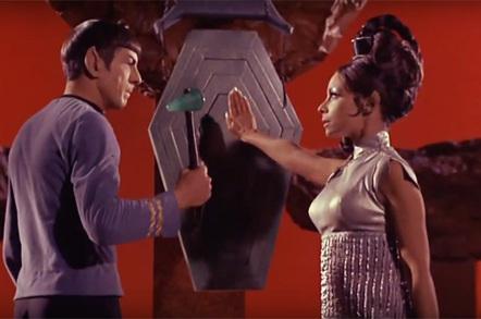 Star Trek Spock and fiancee