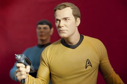 Star Trek toys photo by Willrow Hood via Shutterstock