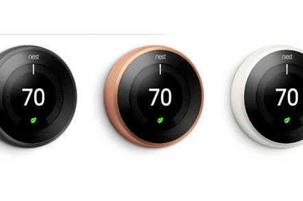 Nest Offers Its Thermostat In Three New Pretty Colors The Register