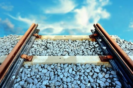 End of the line (train line). Photo by Shutterstock