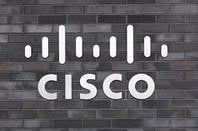 Cisco logo on wall