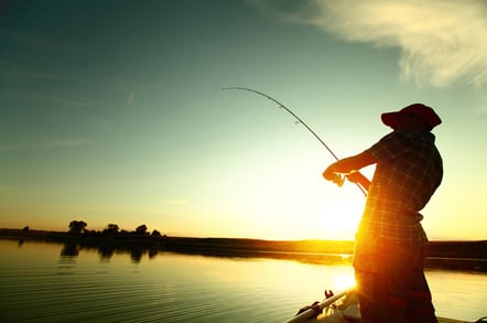 Fishing, photo via Shutterstock