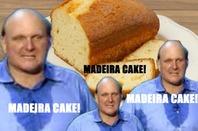 Steve Ballmer shouts MADEIRA CAKE! (Madeira cake sourced from Shutterstock_)