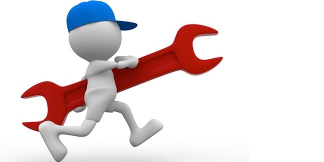 Quick fix - worker running while carrying a wrench