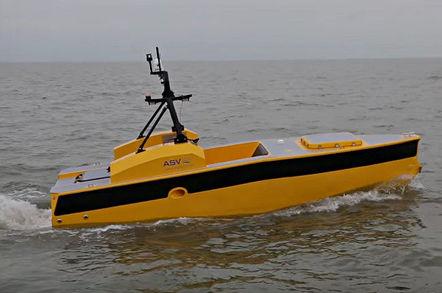 ASV Global C-Worker 5 robot boat