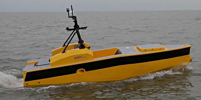 ASV Global C-Worker 5 robot boat