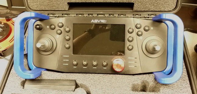 A remote control unit by ASV Global