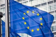 EU flag photo via Shutterstock
