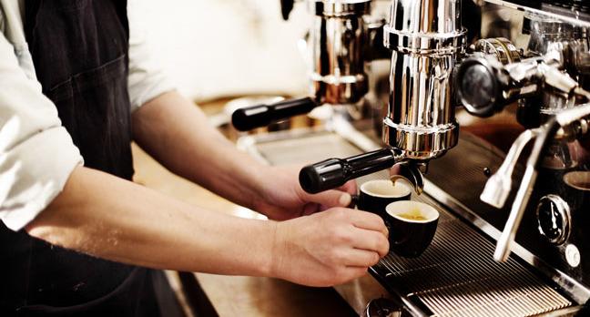 Barista photo via Shutterstock