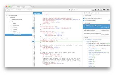 Mozilla's Debugger.html