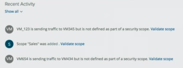 VMware project goldilocks reports