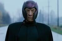 still of Ian McKellan as magneto in the x-men movie