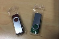 USB sticks used in letterbox drops