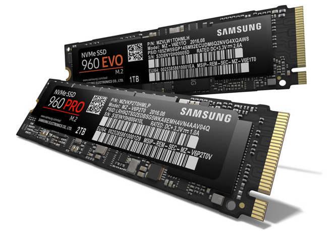 Samsung 960 PRO and EVO