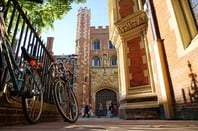 Cambridge bikes photo MK Jones via Shutterstock