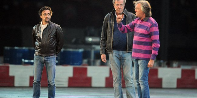Top gear team photo by MediaPictures pl via Shutterstock