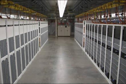 Inside a Microsoft Azure datacenter