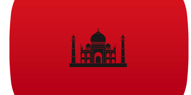YouTube India logo - not official