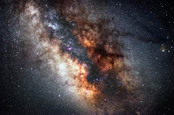 Milky Way photo via Shutterstock