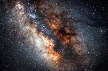 Milky Way photo via Shutterstock