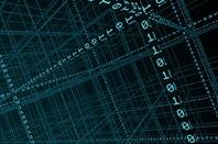 Binary data/big data conceptual illustration. Illustration via Shutterstock