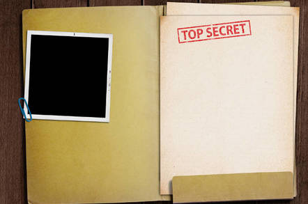 Secret documents picture