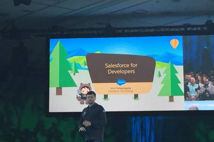 Dreamforce 16 developer keynote